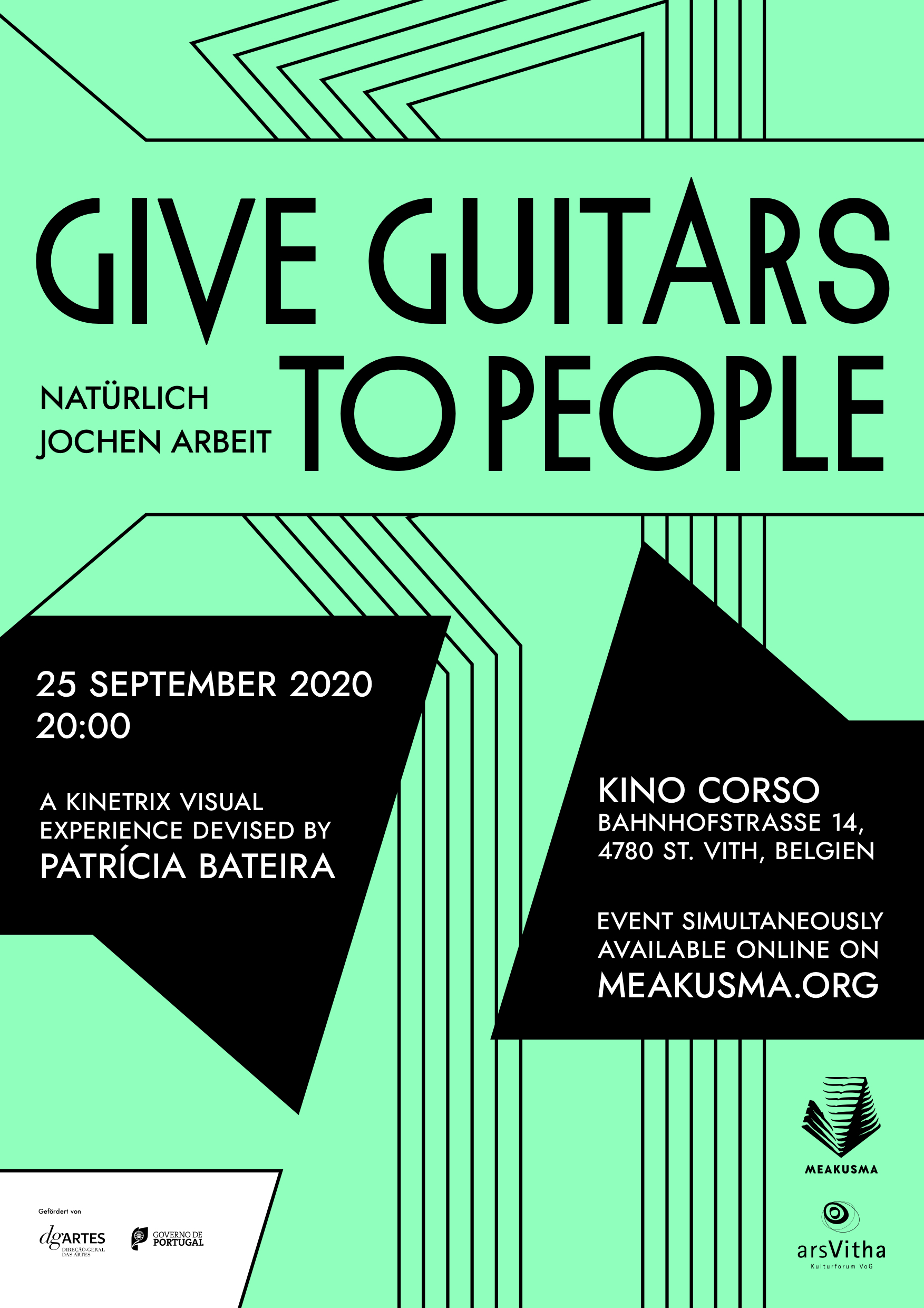 Screening: Give Guitars To People